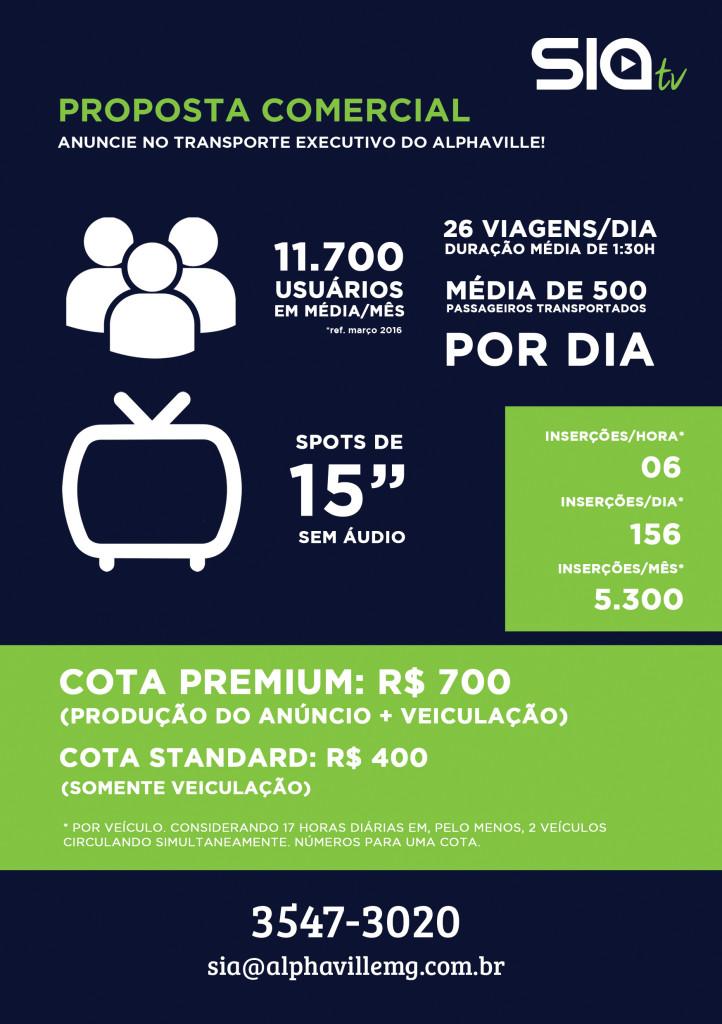 TV SIA LOG - PROPOSTA PARCERIS